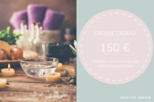 chèque cadeau 150 euros