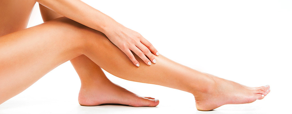 épilation jambes femme