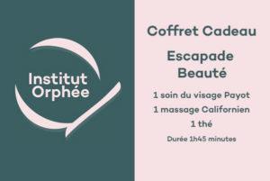 Coffret cadeau - Escapade Beauté